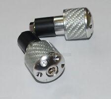 """208 g en acier Chromé 7//8/"""" Barres d/'acier bar ends MOTO Heavy BAR END POIDS"""