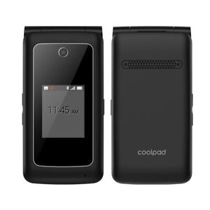 Coolpad Snap 3312A GSM UNLOCKED (Sprint) 4G LTE Android Flip Phone - Clean ESN