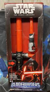 Star Wars Force Awakens Kylo Ren Extendable Electronic Lightsaber Bladebuilders