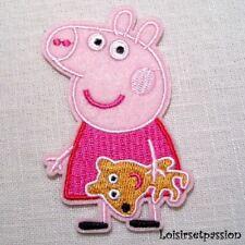 PEPPA PIG ferro su APPLIQUE Patch diversi stili