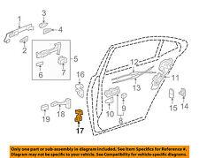 Lexus TOYOTA OEM 07-16 LS460 Lock -Rear Door-Lower Hinge Left 6878030150
