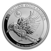 2018  Silver 1 oz. Australian Kookaburra - Dog Privy Limited Mintage!!