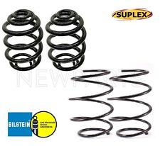 For BMW E46 3-Series 2 Front & Rear Standard Coil Springs Bilstein/Suplex