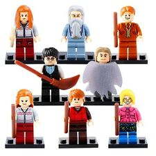 Hermione Ginny Fred Dumbledore Ginny Luna Minifigures Building Toys