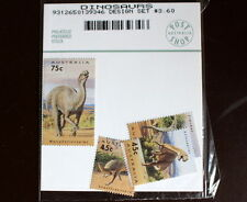 "1993 Australia's Dinosaur Stamp Set - In Original ""Post Shop"" Pack - MUH"
