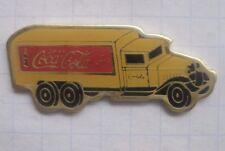 Coca-cola/Oldtimer Truck... coche pin (154b)