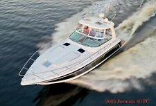2005 Formula 40 Pc Sea Ray Four Winns chaparral Cruiser yacht Regal cobalt