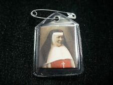 "PRE-OWNED  ""MOTHER CATHERINE AURELIA OF THE PRECIOUS BLOOD""  BADGE WITH RELIC"