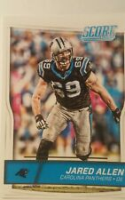 NFL Trading Card Jared Allen Carolina Panthers Score 2016 Panini