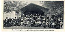 Obererzgebirgischer Gastwirtsverband in Aue im Erzgebirge* Bilddokument 1911
