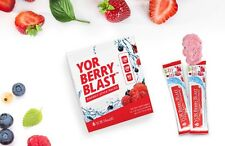 YOR Health Berry Blast 19 Fruits & Berries, Vega, Gluten Free, Energy Supplement