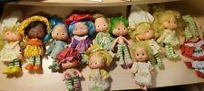 Group of 11 Vintage Strawberry Shortcake Dolls