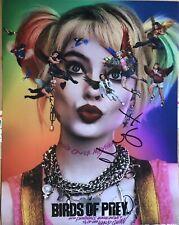 Margot Robbie Birds of Prey Signed Photo 11x14