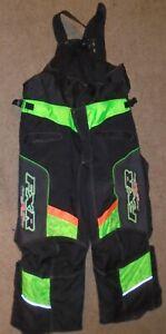 FXR Racing Riding snowmobile  Pants Black Size XXL men