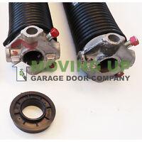 """With Options 42/"""" Pair Garage Door Torsion Springs  .283 X 2 1//4/"""" X 32/"""""""