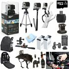 GoPro Hero3+ Black Edition ATV/Bike/Helmet Mount PRO Accessory Bundle! Brand New