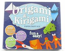 Origami Kirigami Craft Activity Kit Book NEW paper asian japan art family fun