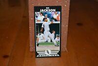 BASEBALL CARD RARE BOOKMARK BO JACKSON CHICAGO WHITE SOX COLLA COLLECTION