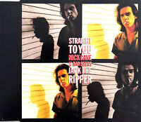 Nick Cave And The Bad Seeds Maxi CD Straight To You / Jack The Ripper - Belgium