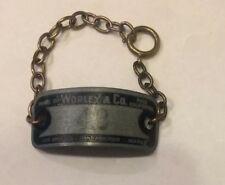 Vintage Upcycle Locker Plate Bracelet