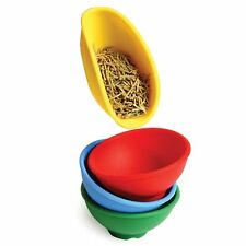 Norpro Mini Flexible Silicone Pinch Bowl Set Of 4 Spice Herb Kitchen Prep Tools