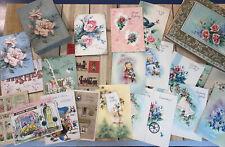 Vintage Greeting Cards Assorted 2 Boxes Unused