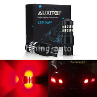 2X Red 7443 7440 T20 Brake Tail Stop Turn Signal Light Bulb High Power car LED C