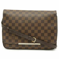 LOUIS VUITTON Damier Hoxton GM Shoulder Bag Ebene N41253 Purse 90113195 2way
