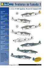 Venturas in Canada 3: RCAF WAC Squadrons – 1/72 scale Aviaeology Decals 'n Docs