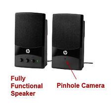 Computer Speakers Wifi Hidden Surveillance/Security Camera   Wireless System