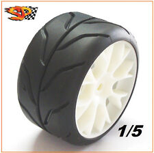 SP Sedan Sport Tires Pair 1/5 scale rc A soft grp pmt FG Harm HPI Audi R8 06100