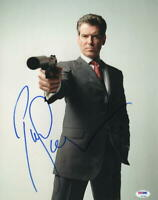 PIERCE BROSNAN JAMES BOND 007 SIGNED 11X14 PHOTO AUTHENTIC AUTOGRAPH BECKETT I