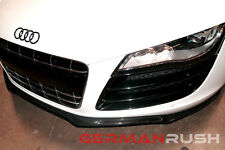 AUDI R8 2007-2015 CARBON FIBER  GERMAN RUSH FRONT SPLITTER ( Fits All Audi R8)