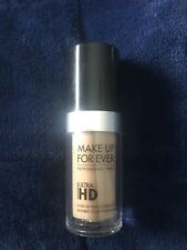 MAKE UP FOR EVER  ULTRA HD INVISIBLE COVER FOUNDATION Y325 - 118 -  1.01 OZ New