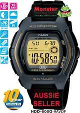 CASIO WATCH HDD-600G-9AV HDD600 HDD600G F91 12-MONTH WARRANTY
