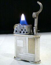 Briquet ancien * THORENS LUCKY * Vintage Fuel LIGHTER * Feuerzeug - Accendino