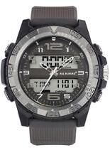 Orologio Uomo ALL BLACKS 680323 Digitale Silicone Grigio Chrono Alarm Timer