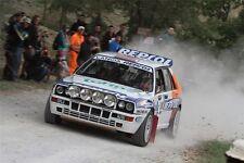 Pósters 75x50cm Lancia Delta HF Integrale-repsol rally Legend san marino 2011