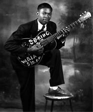 BB King Legendary Blues Guitarist 10x8 Portrait Music Photo Print Picture