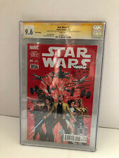 STAR WARS #1 RED #5/20 SIGNED JOHN CASSADAY MAY THE FORCE BE WITH YOU CGC SS 9.8