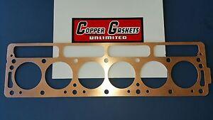 """TRIUMPH TR6 COPPER HEAD GASKET BORE 2.975"""" X .042"""""""