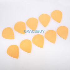 JOYO Guitar Picks Jazz Size Plastic Steel Non-slip Plectrums 1.4mm Yellow 10 Pcs