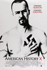 American History X Movie Poster 1 Sided Original Final 27x40 Edward Norton