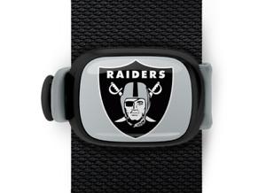 Oakland Raiders Bag Wrap ID Luggage Backpack Bag NFL Black Grey STWRAP