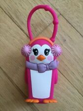 Bath & Body Works Old Style Girl Penguin Pink Pocket Holder