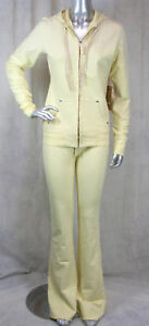 True Religion women's BIG T stretch pants or classic hoodie daffodil yellow