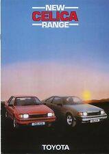 Coupé pour Toyota Celica Liftback 1982-84 original uk la brochure commerciale