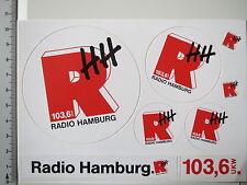 Aufkleber Sticker Radio Hamburg - UKW 103,6 - (3087)
