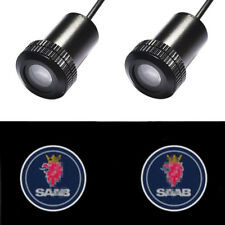 2x Auto Doors Light for SAAB Car LED Logo Projector Shadow Laser Lights Welcome