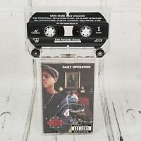 Gang Starr A Daily Operation Cassette Tape 1992 DJ premier